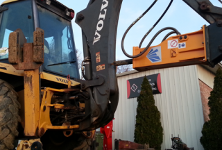 TECHNOLOGY T&H60 & Volvo Backhoe