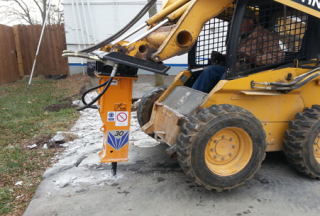T&H30 & CAT Skid Steer Loader