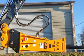T&H160 Hydraulic hammer & Quick Coupler